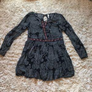 Xhilration long sleeve dress